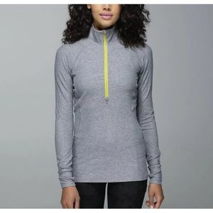 Lululemon Race Your Pace 1/2 zip Pullover. Size 4